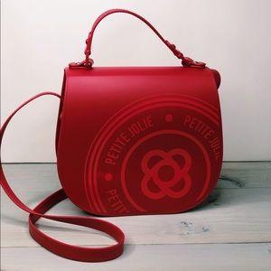 Petite Jolie Saddle J-Lastic Bag Queen Red